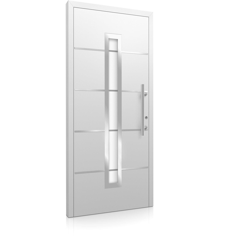 aluminium haust r moderno m420 b 110 x 210 cm wei anschlag rechts kaufen bei obi. Black Bedroom Furniture Sets. Home Design Ideas