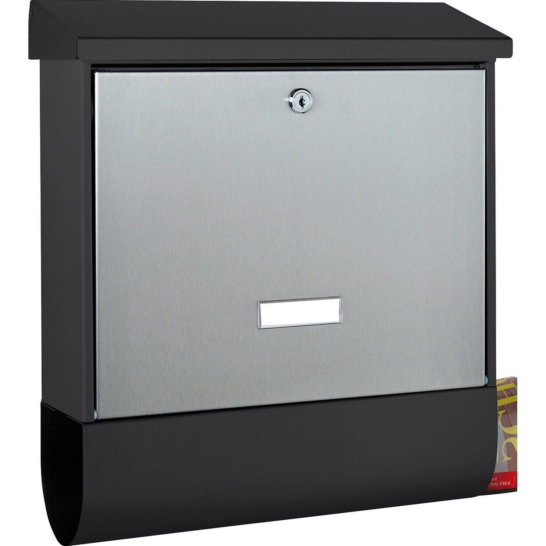 Sehr Burg Wächter Briefkasten Black & Steel London-Set 68670 B+S kaufen HE12