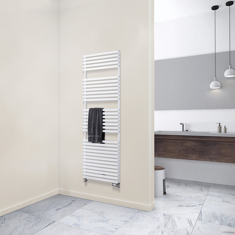 schulte design heizk rper genf mit anschluss von unten 717 w alpinwei kaufen bei obi. Black Bedroom Furniture Sets. Home Design Ideas