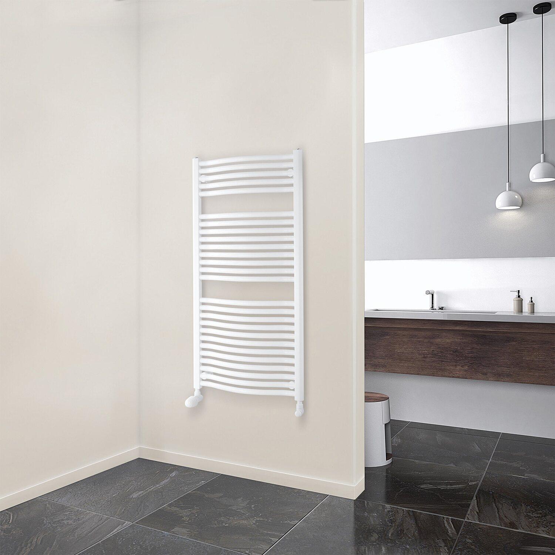 schulte design heizk rper olympia mit anschluss von unten 538 w alpinwei kaufen bei obi. Black Bedroom Furniture Sets. Home Design Ideas