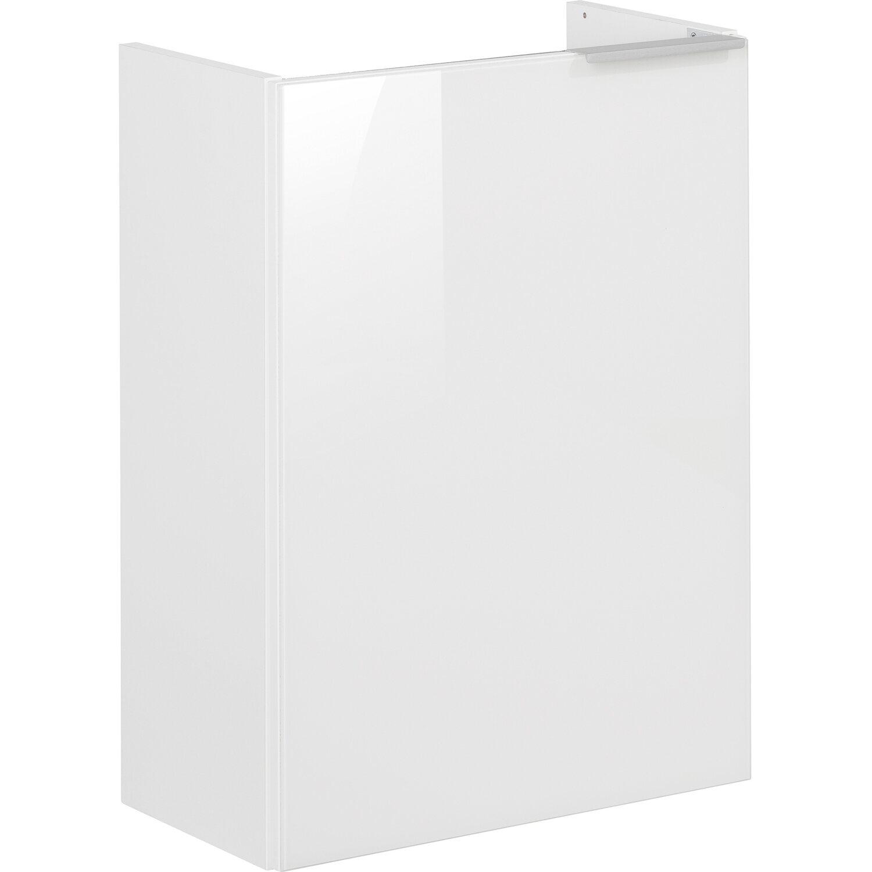 fackelmann mini waschbeckenunterschrank 45 cm kara wei links kaufen bei obi. Black Bedroom Furniture Sets. Home Design Ideas