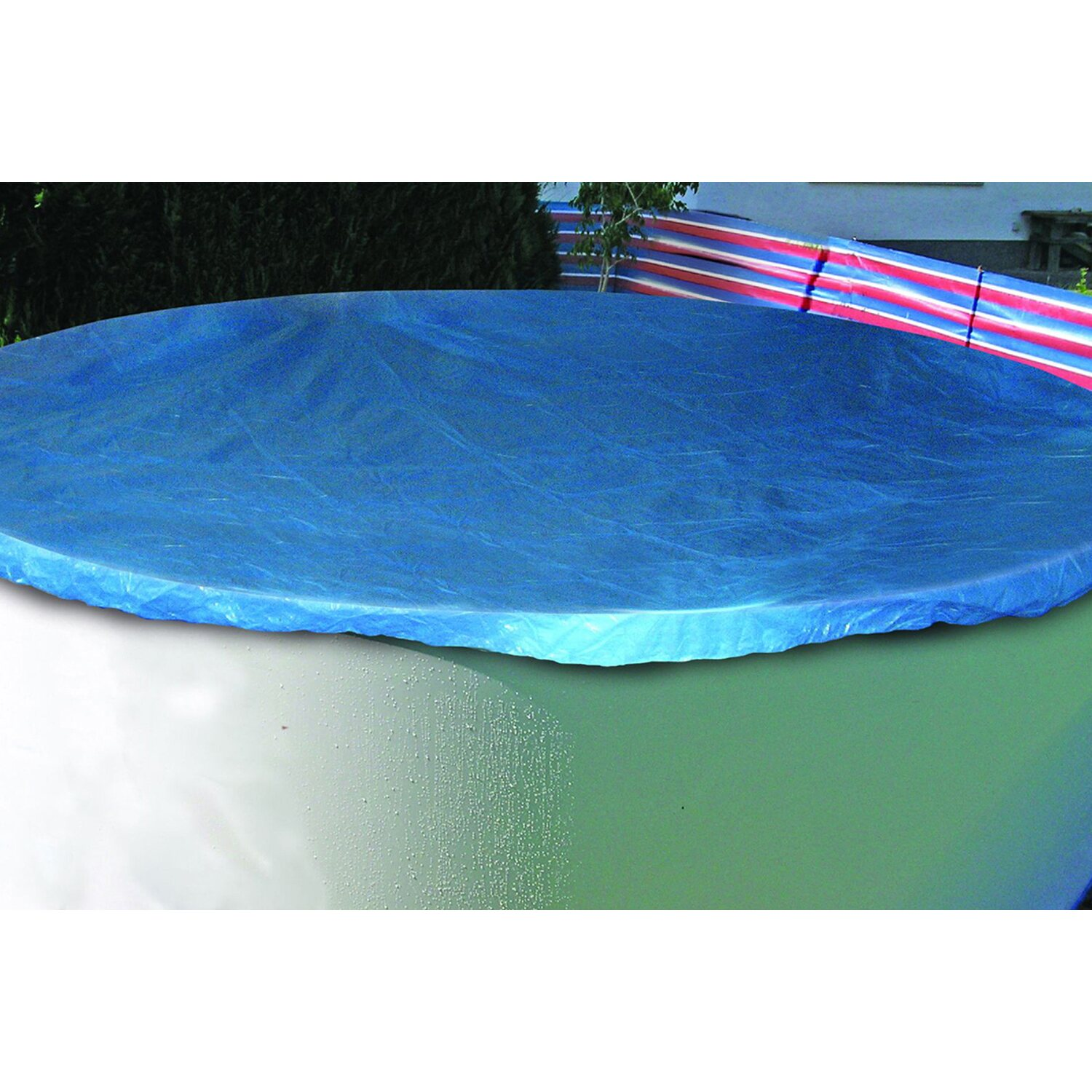 Summer fun pool abdeckplane standard 450 bis 460 cm for Abdeckplane obi