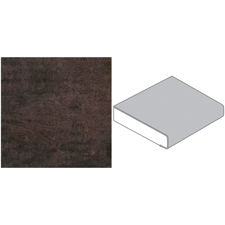 arbeitsplatte 60 cm x 2 9 cm campino metal h674 cr max 4 1 m kaufen bei obi. Black Bedroom Furniture Sets. Home Design Ideas