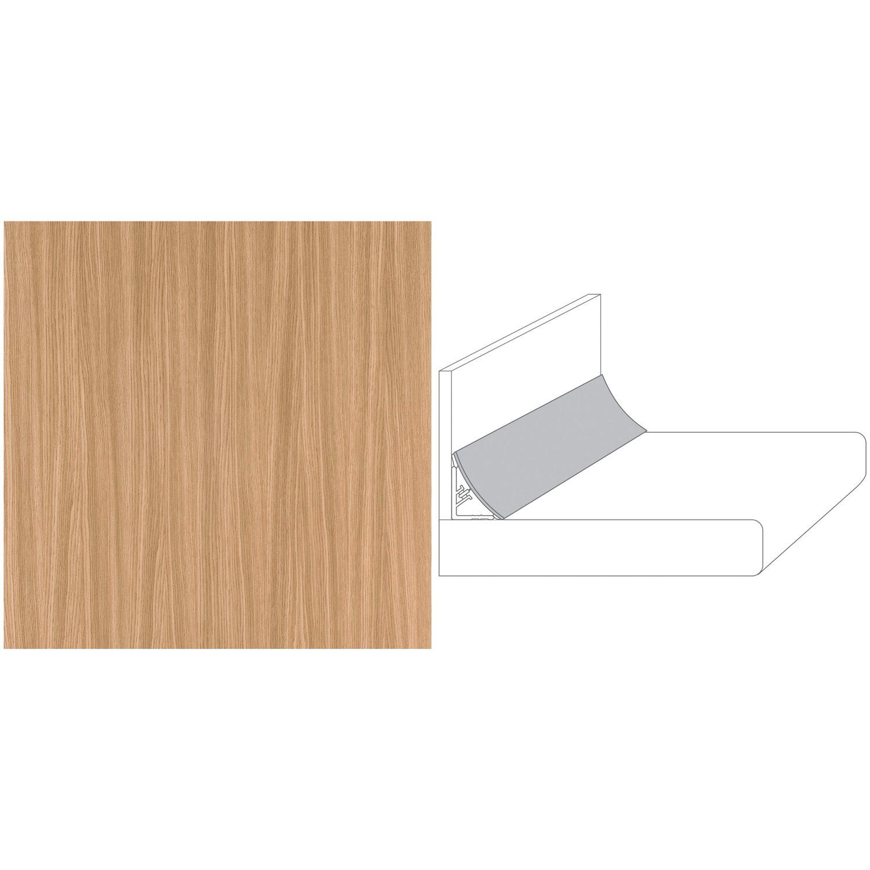 wandanschlussprofil plus 300 cm x 3 cm eiche streifer hell es339 pof kaufen bei obi. Black Bedroom Furniture Sets. Home Design Ideas