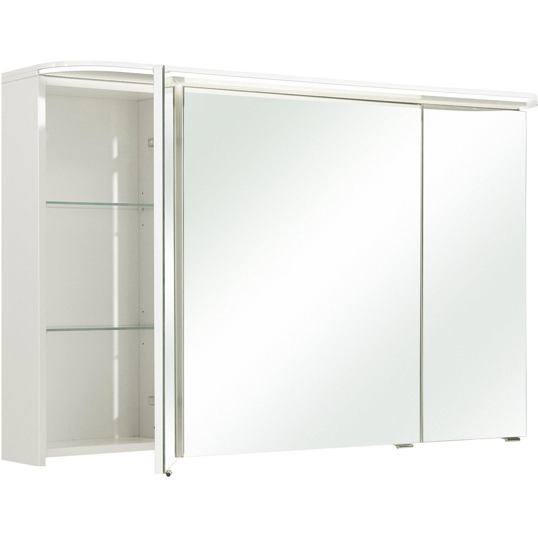 Pelipal Spiegelschrank 120 cm Quantum 5 Weiß Hochglanz EEK: A+