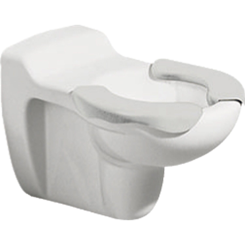 Geberit Wand-WC Bambini Tiefspüler Spülrand Sitzauflagen Weiß-Grau