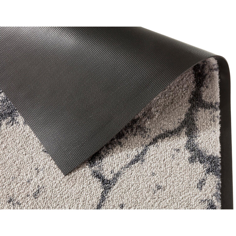 sch ner wohnen sauberlaufmatte miami 50 cm x 70 cm marmor silber kaufen bei obi. Black Bedroom Furniture Sets. Home Design Ideas
