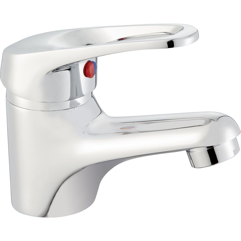 Einhebel-Waschbeckenarmatur Foglia Verchromt