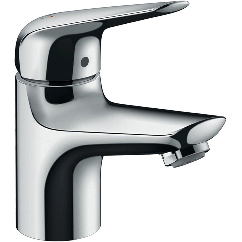 Hansgrohe Einhebel-Waschbeckenarmatur Novus 70 mm mit Zugstangen-Ablaufg. Chrom | Bad > Armaturen > Waschtischarmaturen | Hansgrohe