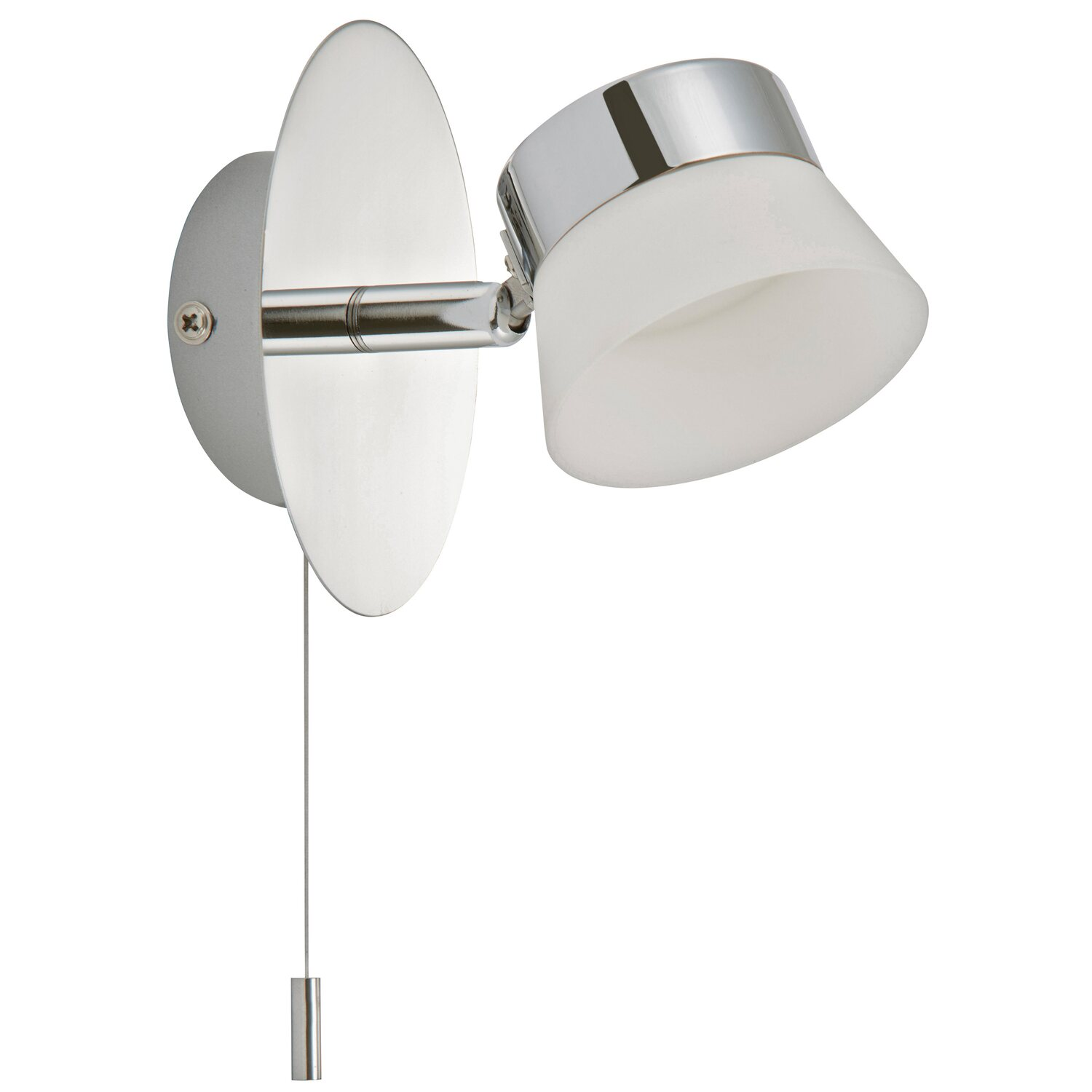 Briloner Briloner LED-Bad-Wandleuchte Surfline IP 44 EEK: A - A+ Chrom