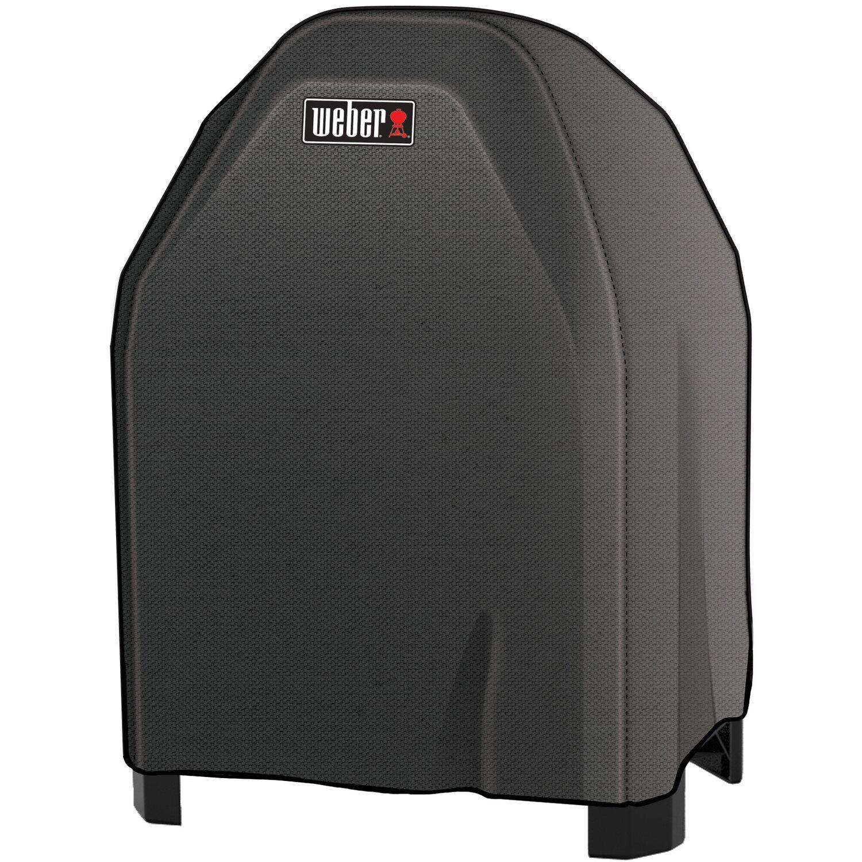 weber premium abdeckhaube f r weber pulse 1000 mit stand schwarz kaufen bei obi. Black Bedroom Furniture Sets. Home Design Ideas