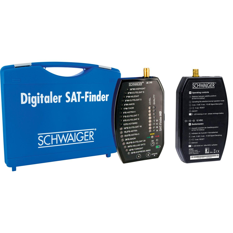 Schwaiger SAT Finder HD Profi inkl. Akku