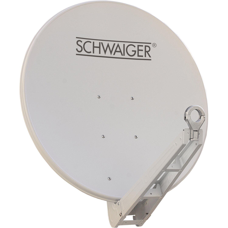 schwaiger aluminium satellitensch ssel parabolantenne. Black Bedroom Furniture Sets. Home Design Ideas