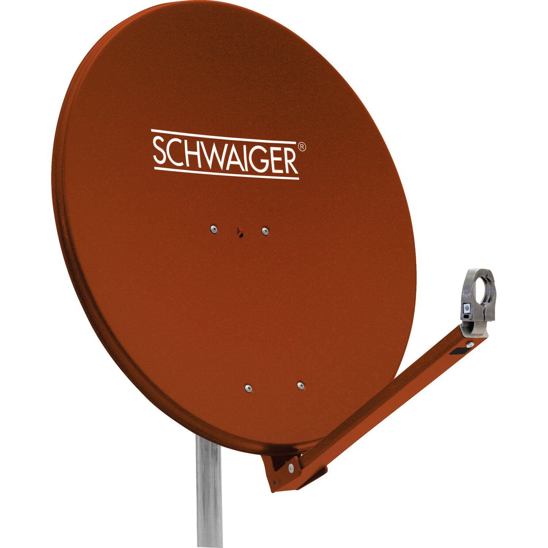 Schwaiger Aluminium Satellitenschüssel Parabola...