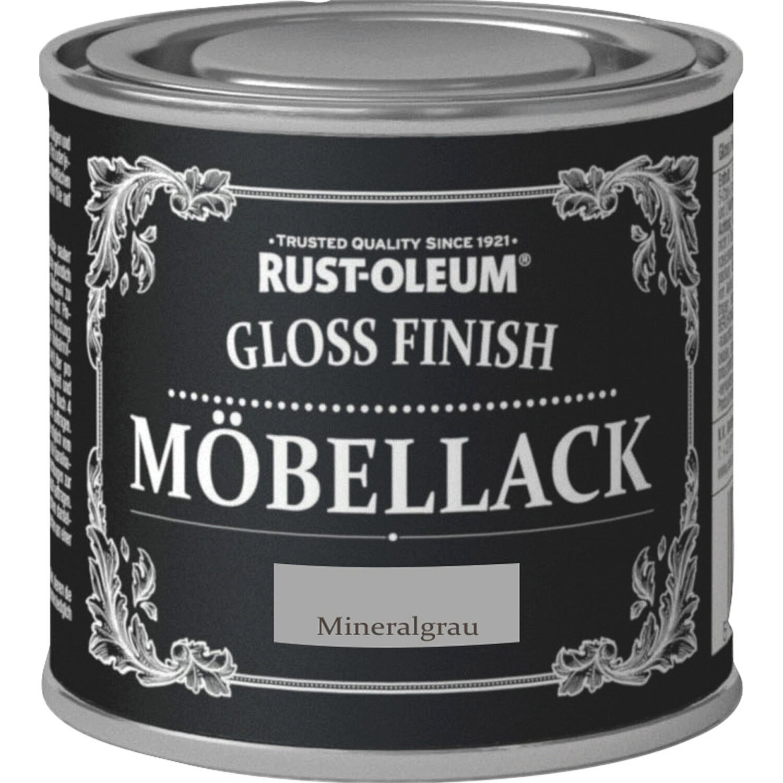 rust oleum kreidefarbe m bellack gloss finish mineralgrau hochgl nzend 125 ml kaufen bei obi. Black Bedroom Furniture Sets. Home Design Ideas