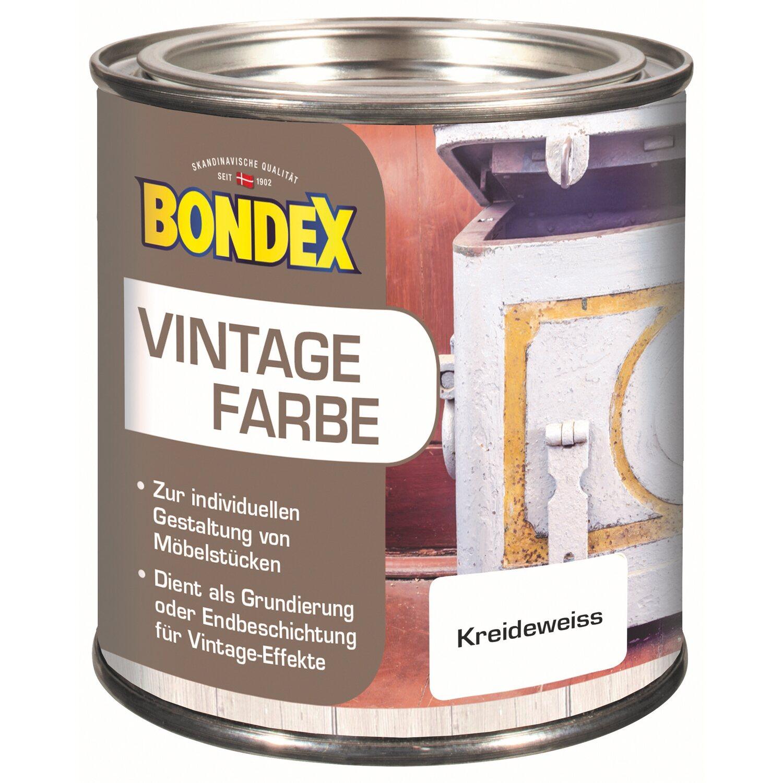 bondex vintage farbe kreidewei 375 ml kaufen bei obi. Black Bedroom Furniture Sets. Home Design Ideas