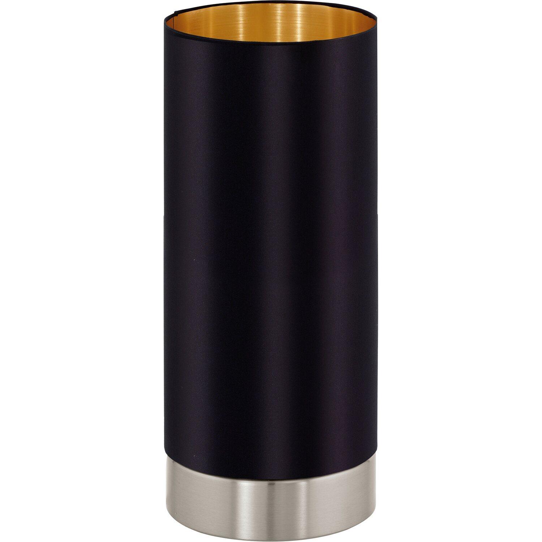 eglo tischleuchte maserlo schwarz gold 12 cm eek e a. Black Bedroom Furniture Sets. Home Design Ideas
