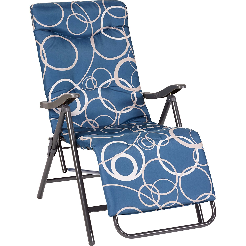 CMI Relaxstuhl Blau kaufen bei OBI
