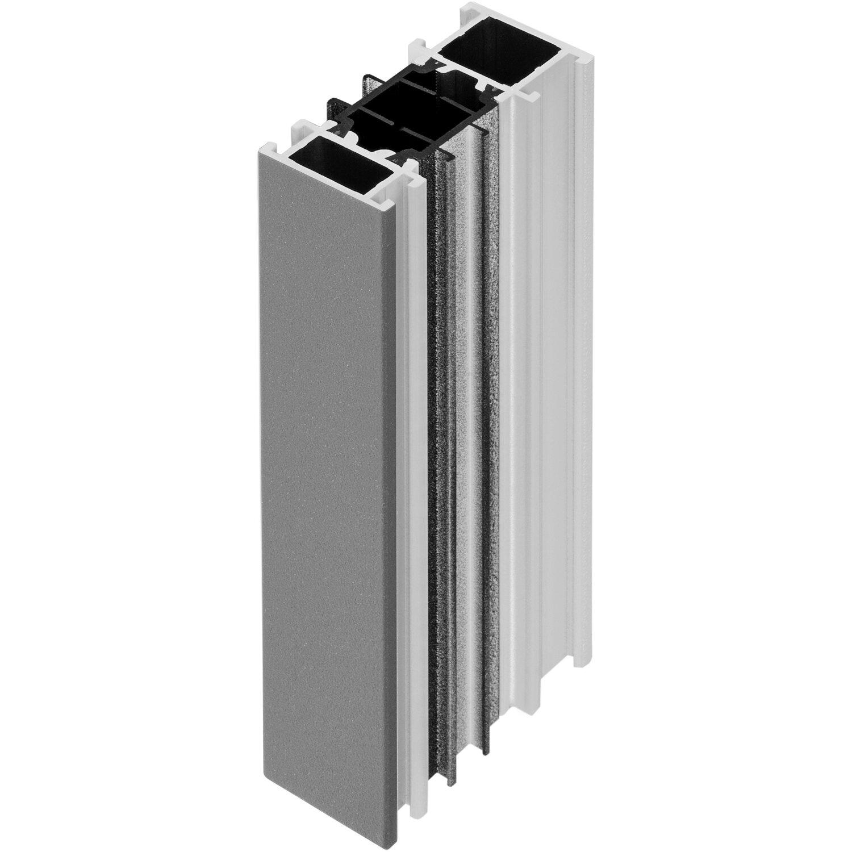 rahmenverbreiterung f r thermospace t r 34 mm anthrazit wei kaufen bei obi. Black Bedroom Furniture Sets. Home Design Ideas