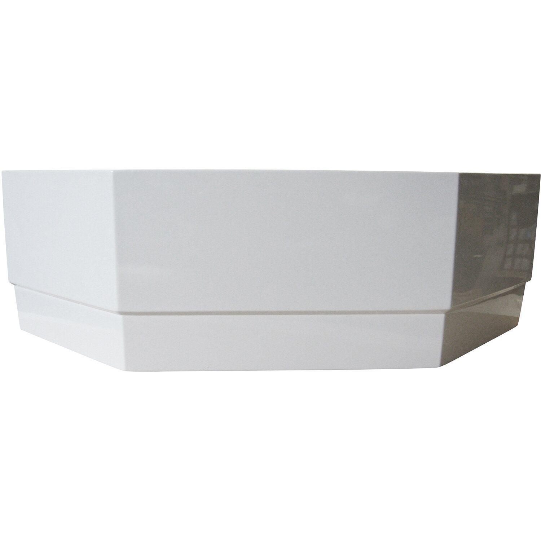 Schürze zu Eckwanne Miami 125 cm Weiß | Bad > Badewannen & Whirlpools > Eckbadewannen | Weiß | Sanitäracryl | Sonstige