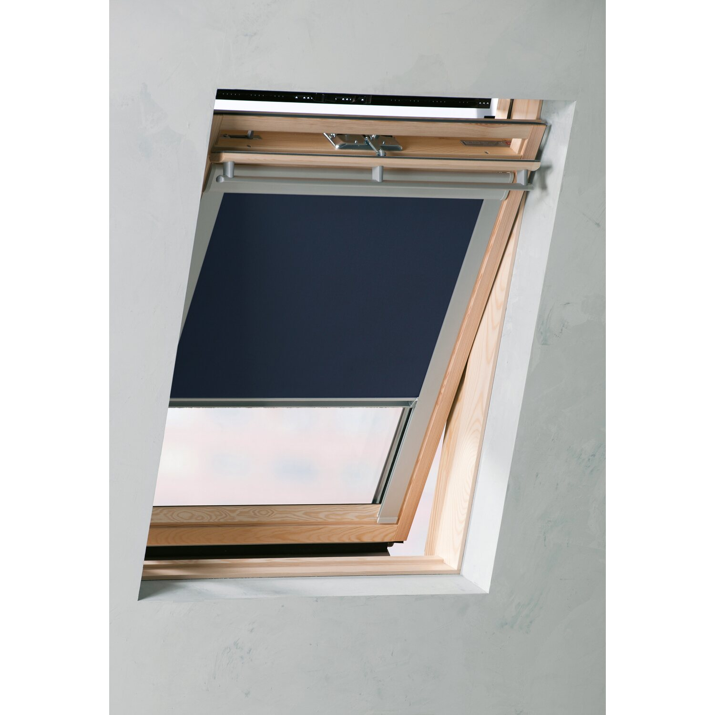 Cocoon Dachfensterrollo Verdunklung Blau 38 3 Cm X 54 Cm Kaufen Bei Obi