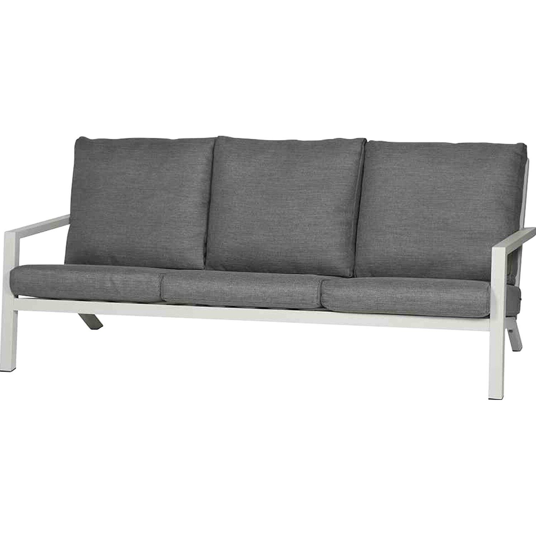 siena garden lounge sofa 3 sitzer belia grau kaufen bei obi. Black Bedroom Furniture Sets. Home Design Ideas