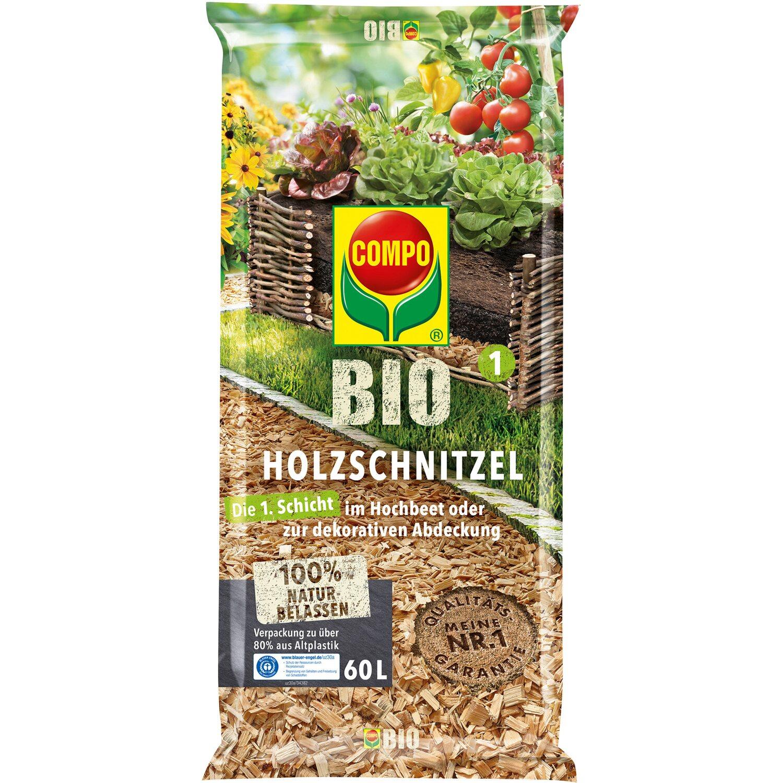 Compo  Bio Holzschnitzel 1 x 60 l
