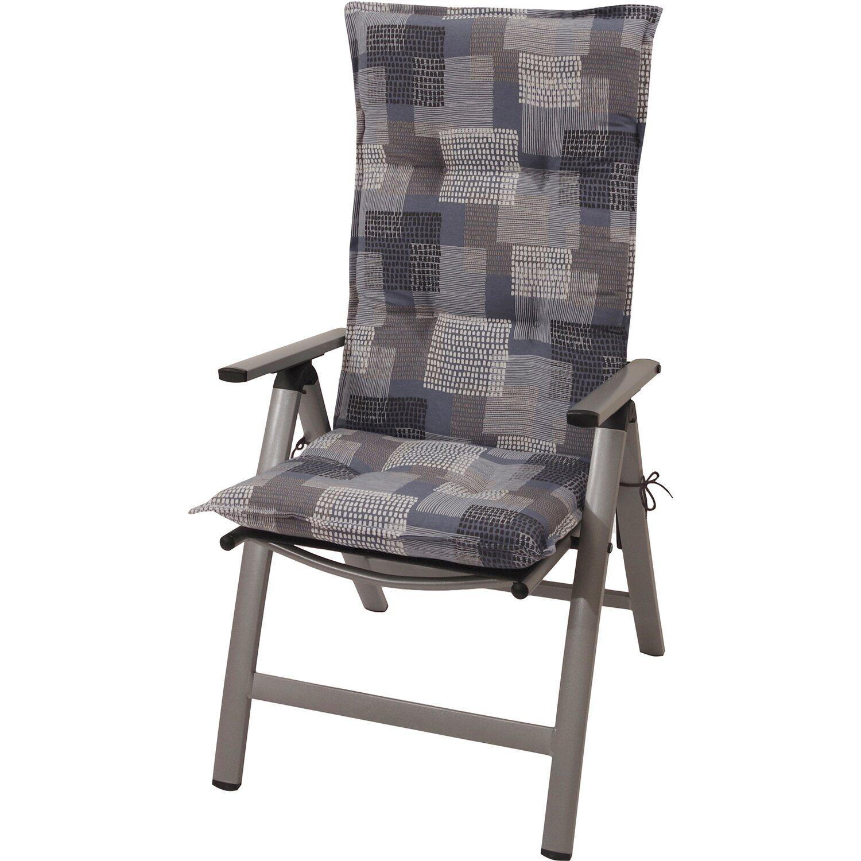 hochlehner auflage norderney grafik blau grau kaufen bei obi. Black Bedroom Furniture Sets. Home Design Ideas