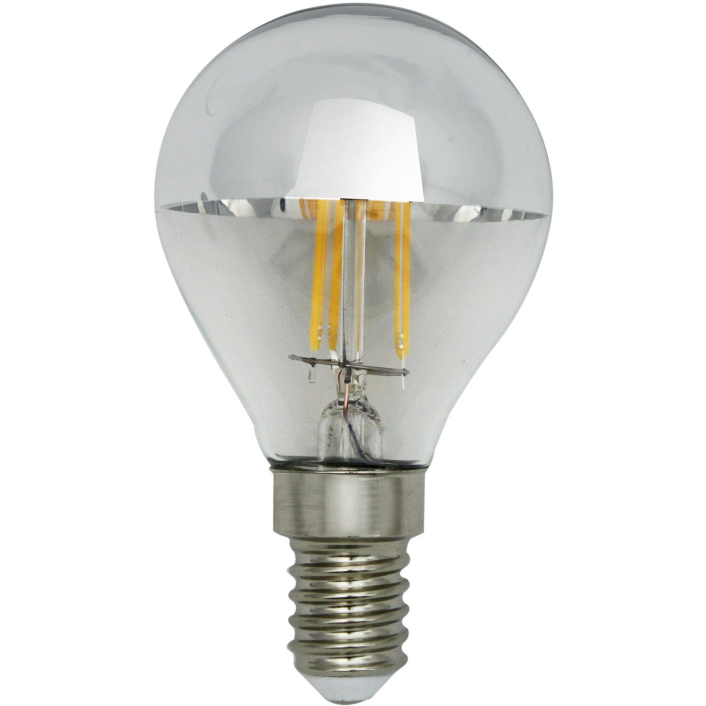 Lightme LED-Leuchtmittel Glühlampenform E14 / 4...