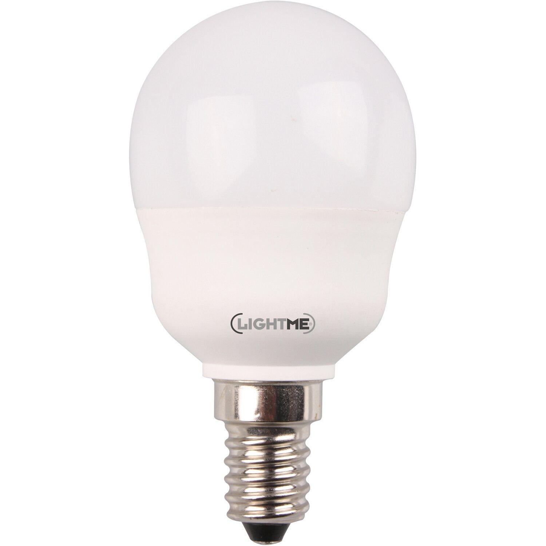 Lightme LED-Leuchtmittel Tropfen E14 / 5 W (250 lm) Warmweiß und RGB ...