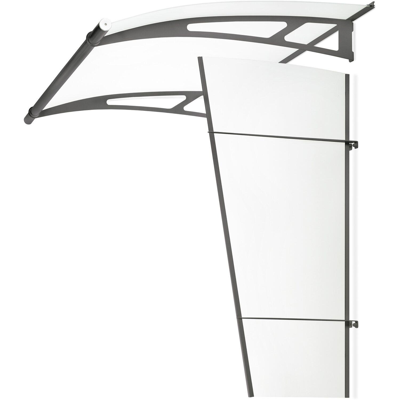 seitenelement lt line stahl anthrazit klar 167 cm x 62 cm kaufen bei obi. Black Bedroom Furniture Sets. Home Design Ideas