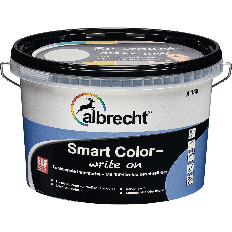 Albrecht  Smart Color - write on Himmelblau stumpfmatt 1 l