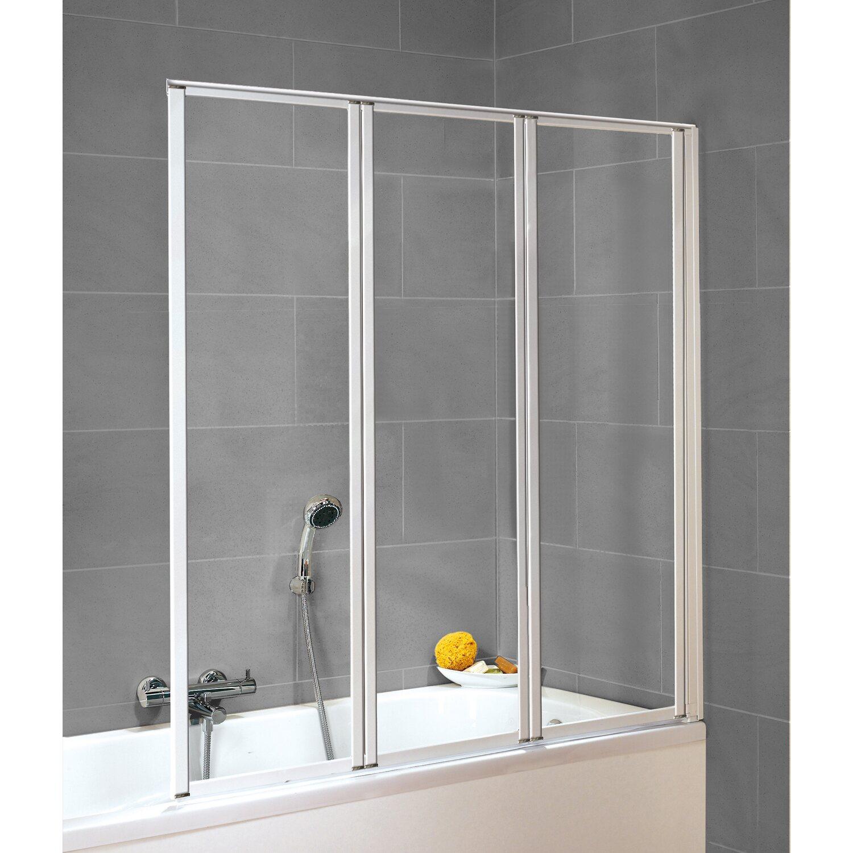schulte badewannenaufsatz 3 teilig wei echtglas klar hell 119 x 129 cm kaufen bei obi. Black Bedroom Furniture Sets. Home Design Ideas