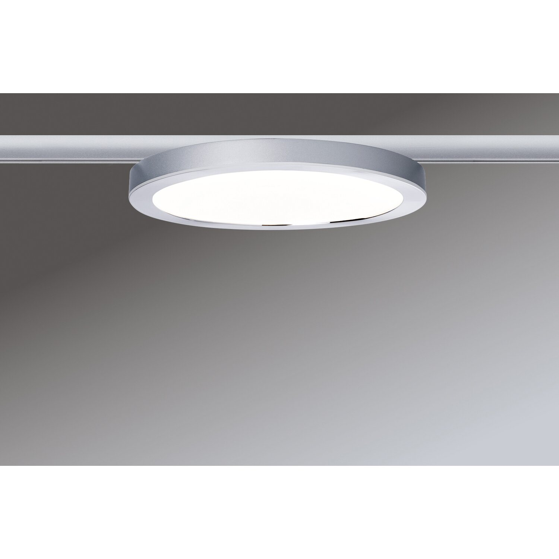 paulmann urail led panel ring 7 w chrom matt eek a a. Black Bedroom Furniture Sets. Home Design Ideas