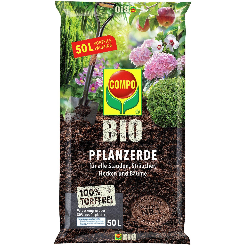 Compo Bio Pflanzerde torffrei 1 x 50 l