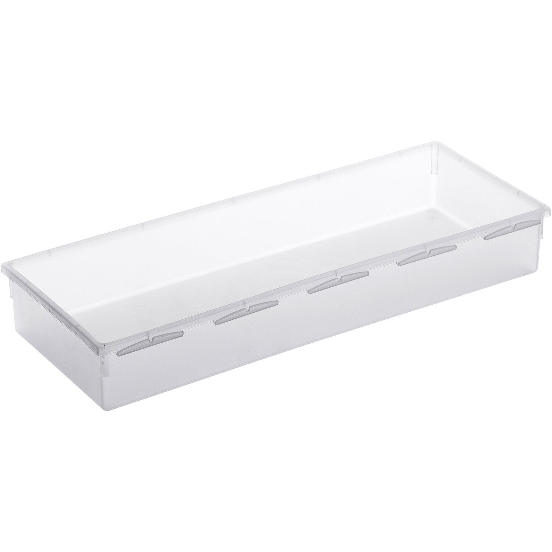 Rotho Schubladen Aufbewahrungsbox Basic Transparent 5 Cm X 15 Cm X