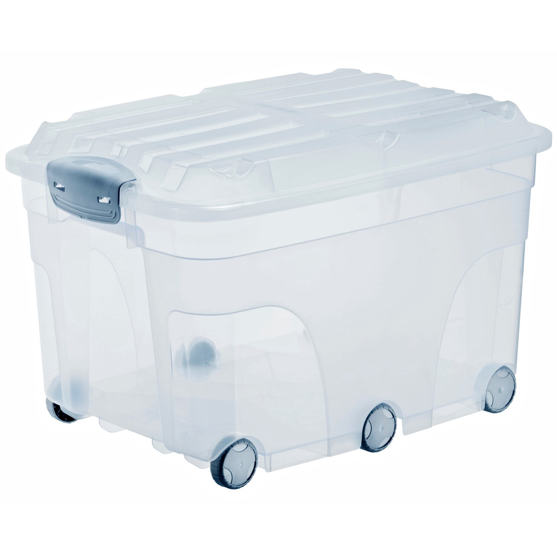 Fabulous Rotho Universalbox Roller 6 Transparent 57 l kaufen bei OBI QP59