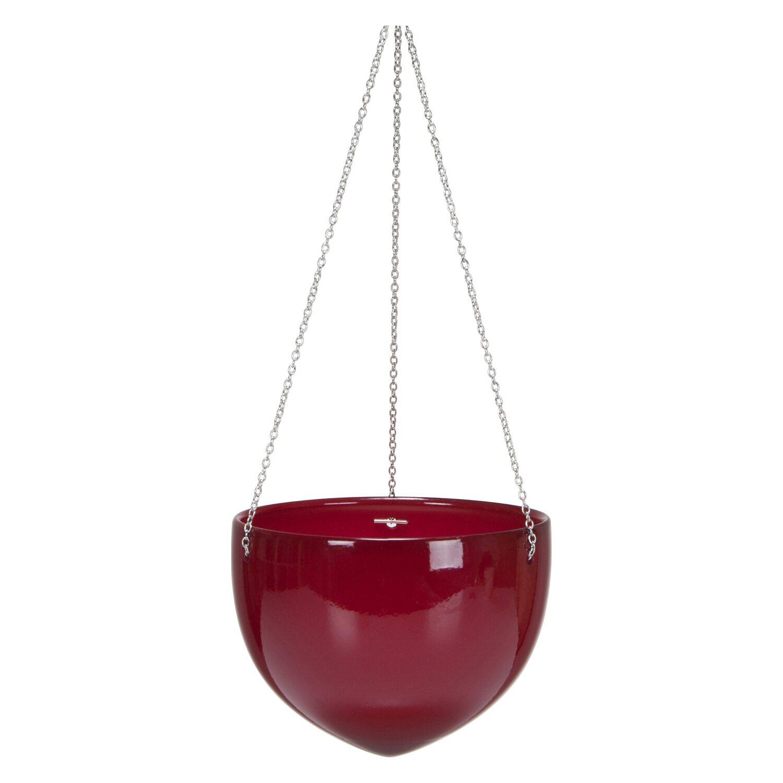 scheurich h ngeampel 845 18 cm dark red kaufen bei obi. Black Bedroom Furniture Sets. Home Design Ideas