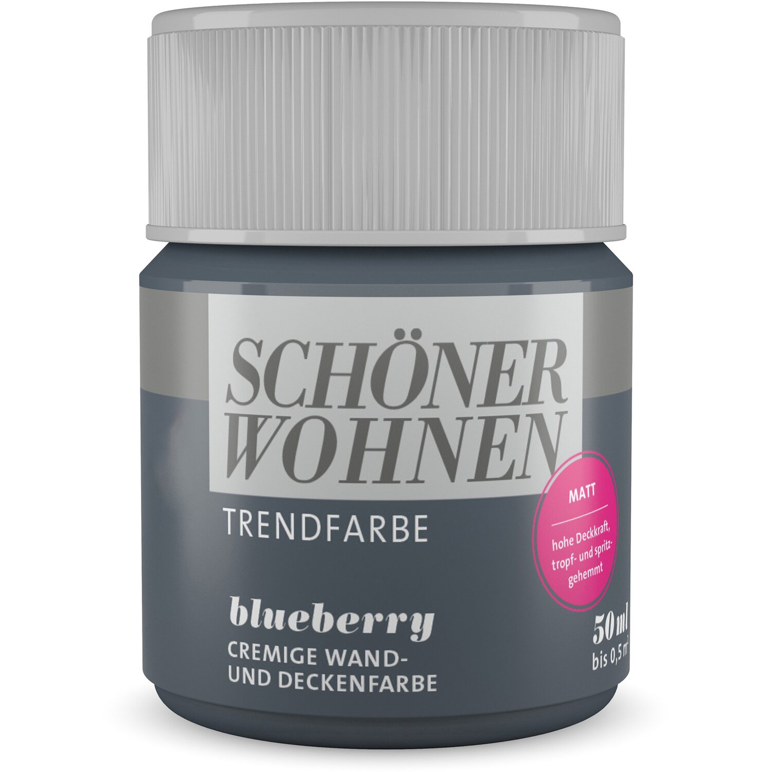 sch ner wohnen trendfarbe blueberry matt 50 ml kaufen bei obi. Black Bedroom Furniture Sets. Home Design Ideas