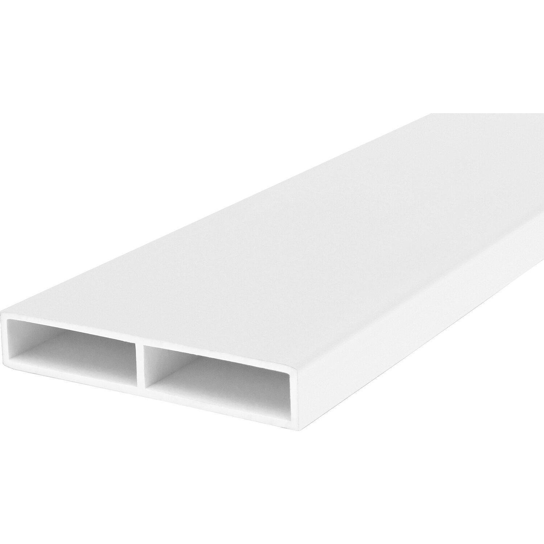 wandanschlu leiste f r thermospace t r 40 mm wei meterware kaufen bei obi. Black Bedroom Furniture Sets. Home Design Ideas