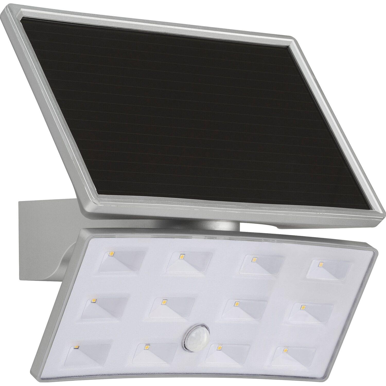 Telefunken Solar-Außenleuchte mit Bewegungsmelder 500 lm Silber EEK ...