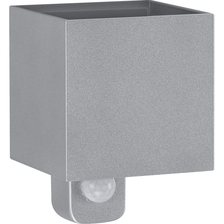 Gut gemocht Telefunken LED-Außenleuchte mit Bewegungsmelder 600 lm Silber JH37
