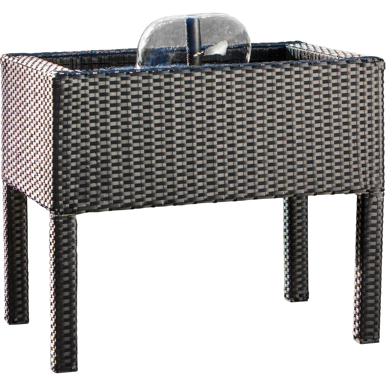 hochteich komplettset rattan kaufen bei obi. Black Bedroom Furniture Sets. Home Design Ideas