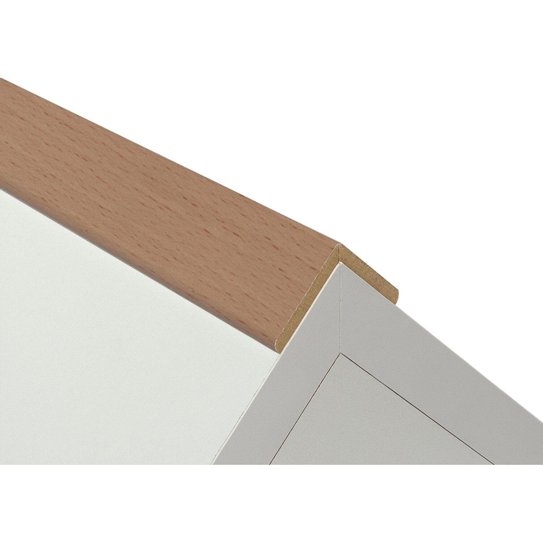 Winkelleiste Buche Natur Holznachbildung32 Mm X 32 Mm Lange 2600 Mm Kaufen Bei Obi