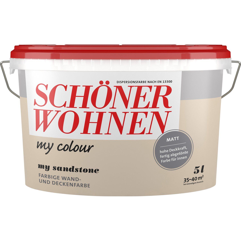 Schöner Wohnen My Colour My Basalt Matt 10 L Kaufen Bei Obi: Schöner Wohnen My Colour My Sandstone Matt 5 L Kaufen Bei OBI