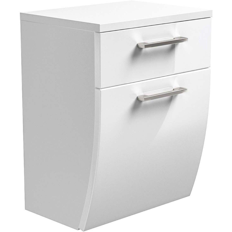 Posseik Unterschrank Rima 40 cm Weiß | Bad > Badmöbel > Unterschränke fürs Bad | Posseik