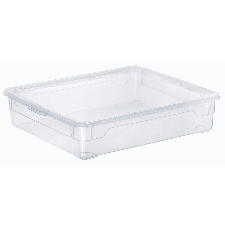 Rotho Clear Box Shirt Transparent 9 L Kaufen Bei Obi