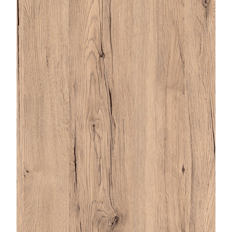 Arbeitsplatte 280 cm x 63 cm x 2,8 cm Eiche Sanremo Sand