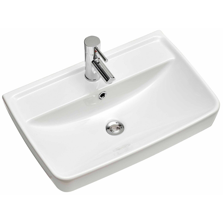 Pelipal Aufsatzwaschbecken 357 Capri 60 cm Weiß | Bad > Waschbecken | Pelipal