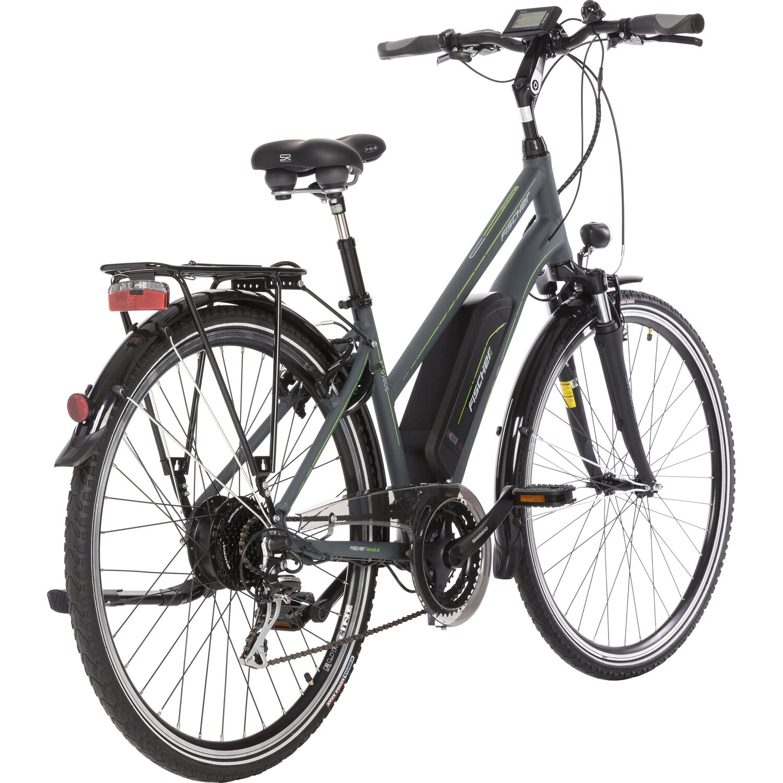 fischer e bike trekking damen etd 1806 s1 anthrazit matt kaufen bei obi. Black Bedroom Furniture Sets. Home Design Ideas